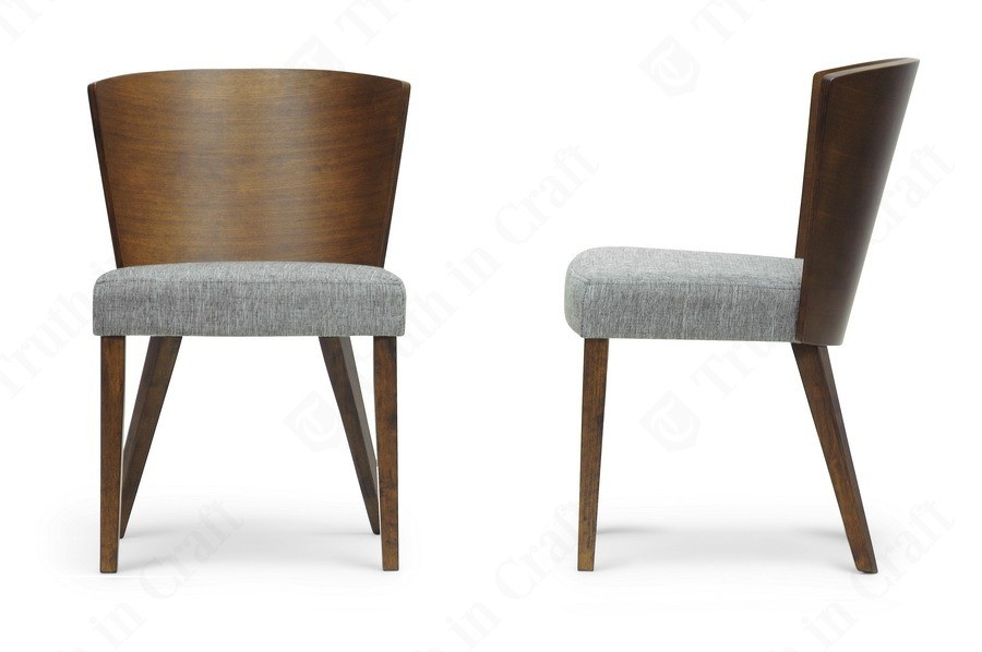 Contemporary Dining Chairs Sparrow Brown