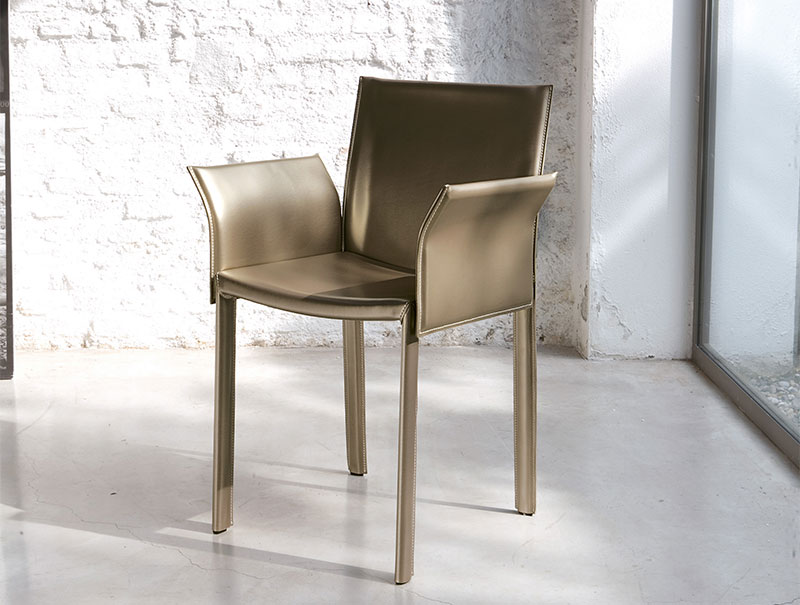 Contemporary dining chairs designs ideas inoutinterior for Leather dining chairs with arms