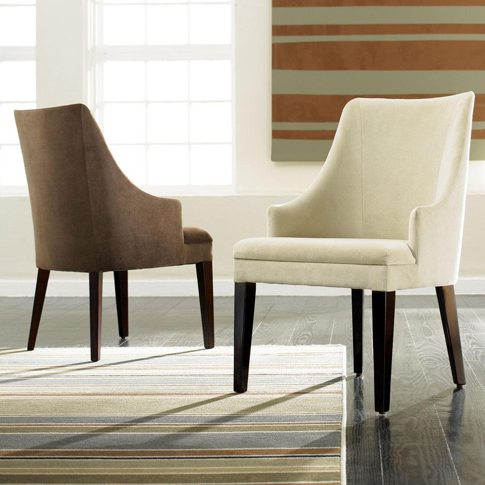 contemporary dining room chairs with arms