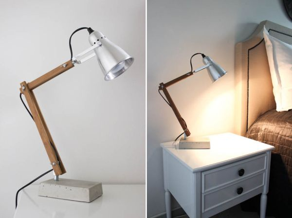 Decorative Bedside Table Lamps WIth Simple Design