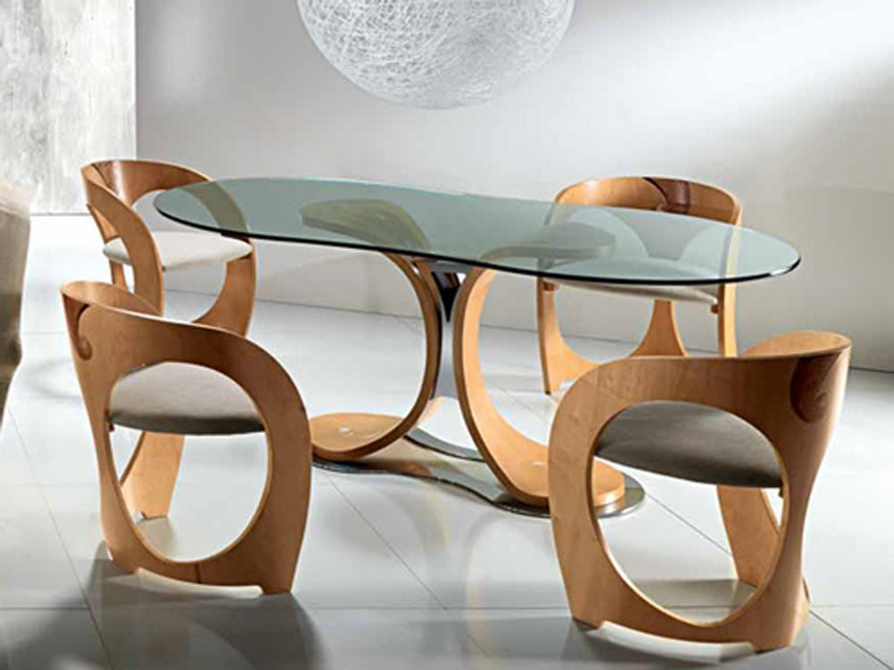 Stylish dining table sets for dining room inoutinterior for Wooden dining table and chairs