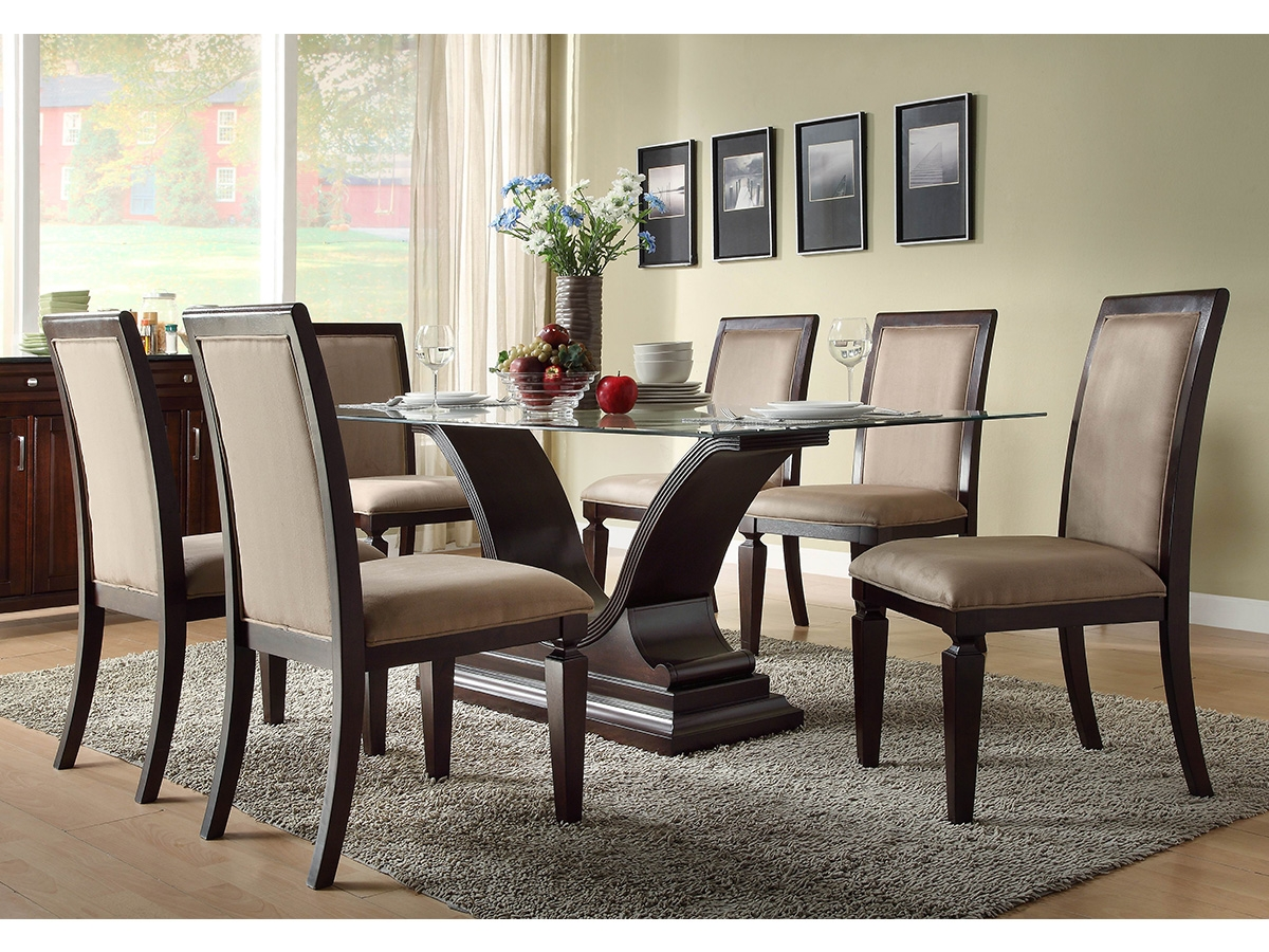 Stylish dining table sets for dining room inoutinterior for Dining room table and bench set