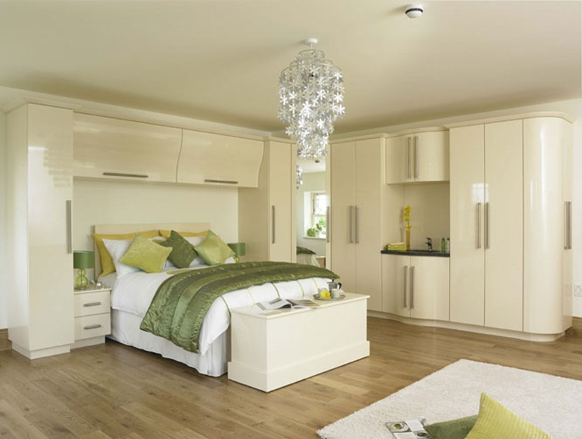 Fitted bedroom furniture allows you to maximize space for Fitted bedroom ideas for small rooms