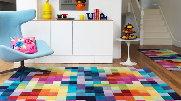 Colorful Area Rugs - Unique Rugs For The Living Room u00bb InOutInterior