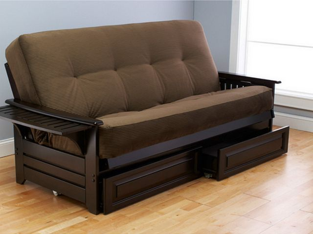 Futon sofa bed sophisticated furniture inoutinterior Couch futon bed