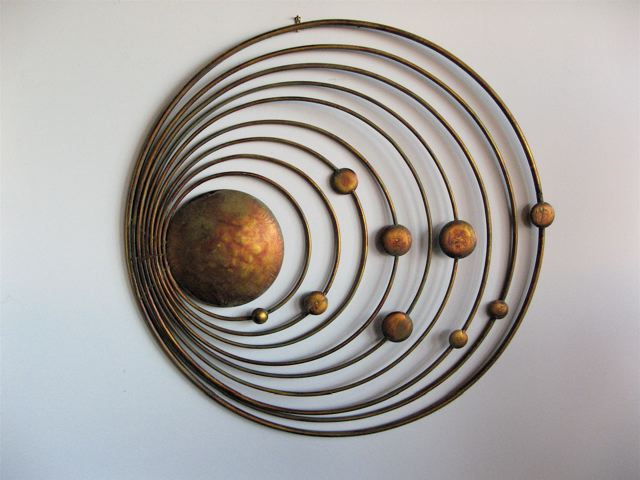 Metal Wall Accents metal wall art for modern home » inoutinterior