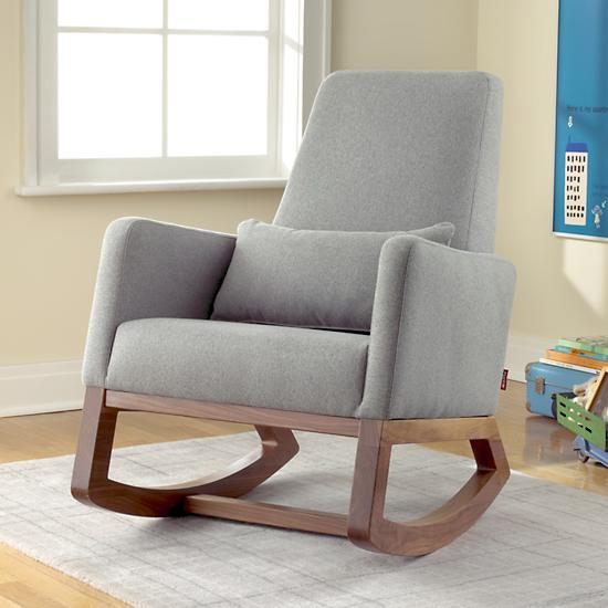 modern nursery rocking chair and ottoman wayfair sale
