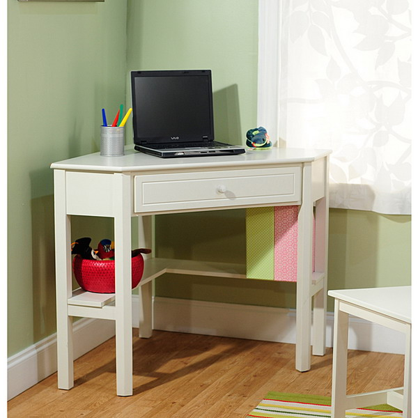 small corner computer desk - Computer Desk For Small Spaces