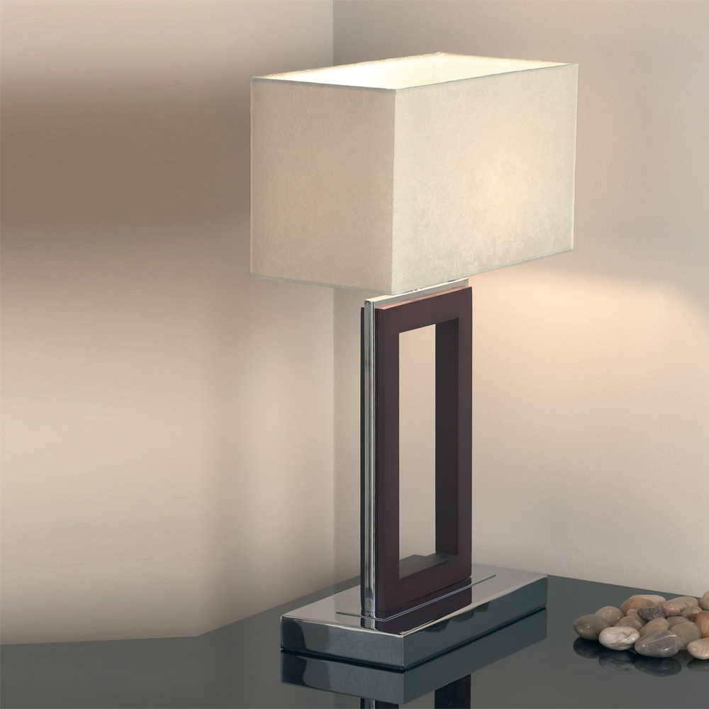 Bedside table lamps in diferrent styles inoutinterior for Modern contemporary table lamps