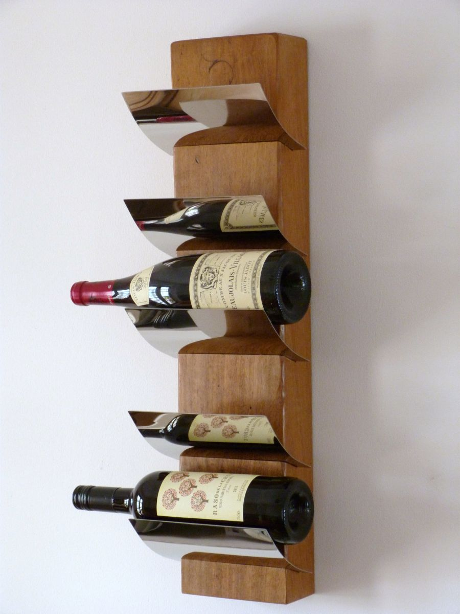 The benefits of having wooden wine racks inoutinterior Wine rack designs wood