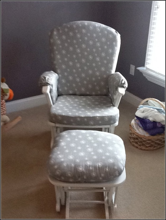 NUrsery Rocking Chair WIth Cushion
