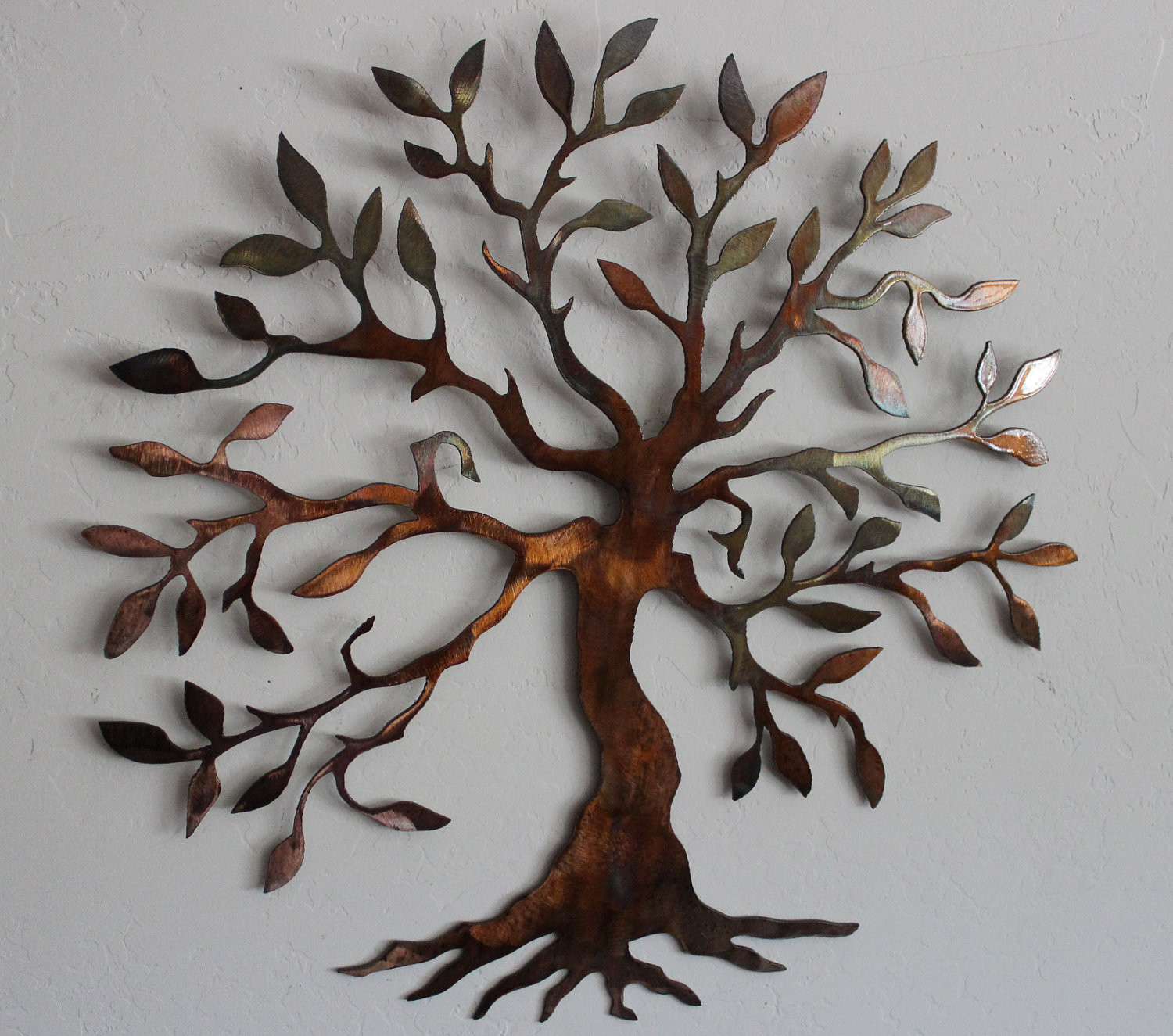 ... Metal Wall Art Tree ... : copper tree wall art - www.pureclipart.com