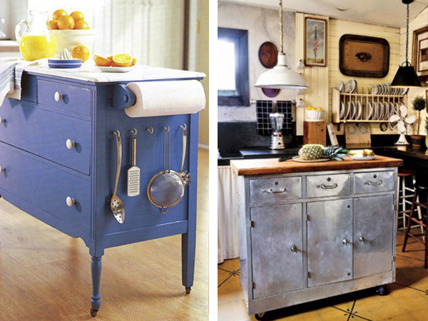 Kitchen island ideas how to make a great kitchen island - Cheap portable kitchen island ...