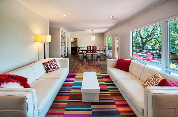 Rectangular Shape COlorful Area rugs