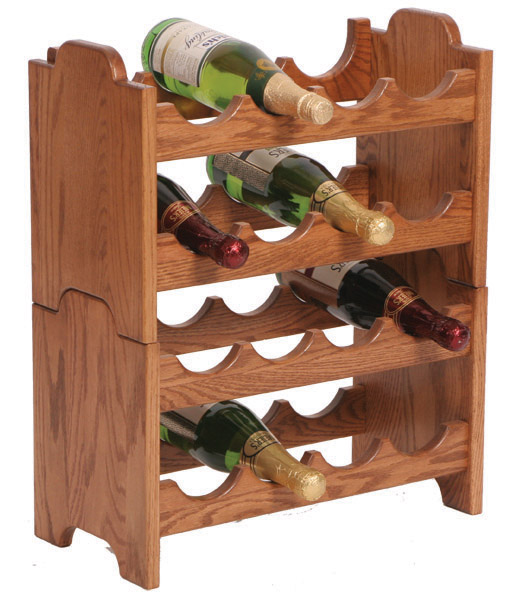 Simple Wooden Wine Racks