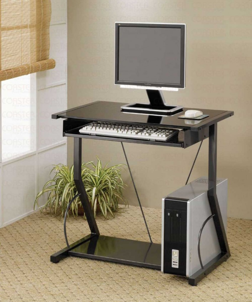 Small Narrow Computer Desk