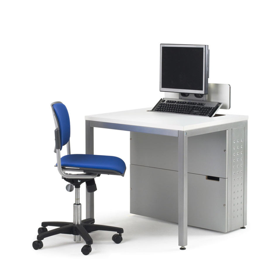 person with a moderate space in your home or office. Small computer