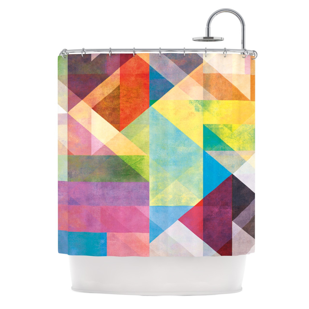 Unique Shower Curtains Abstract Patterns