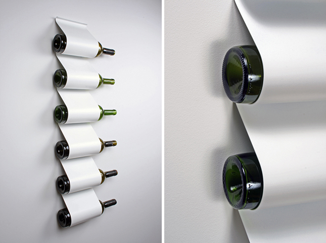 Unique Wall Mounted Wine Racks Metal Base