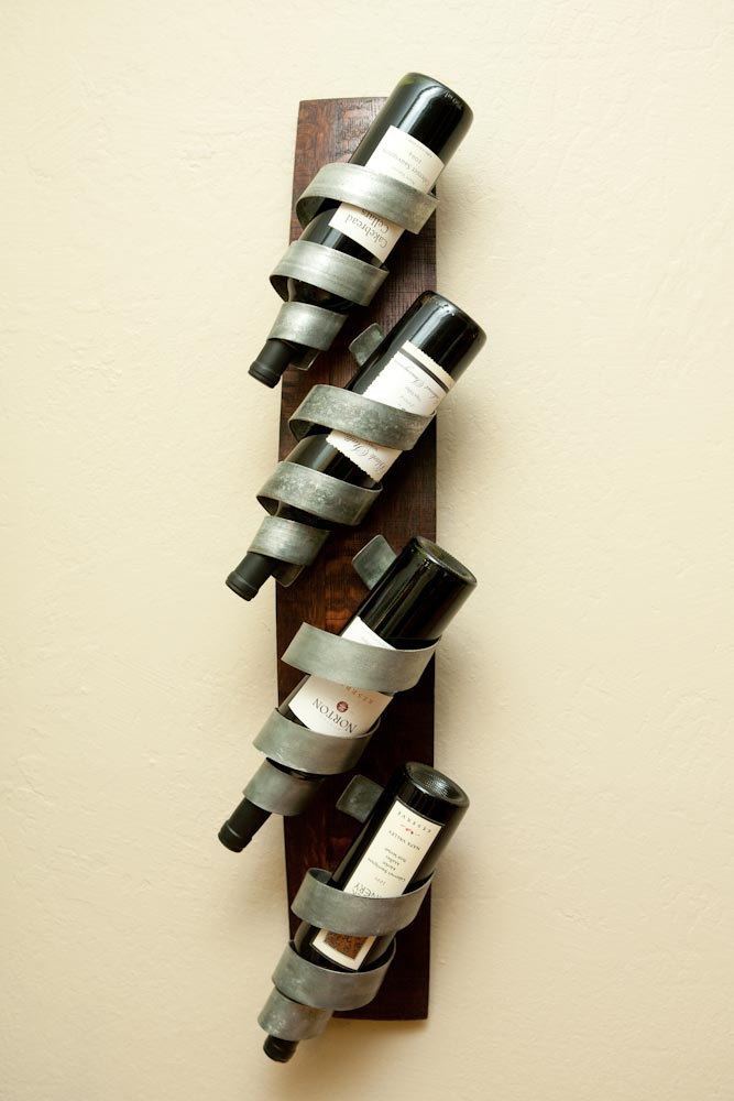 Wall mounted wine racks inoutinterior
