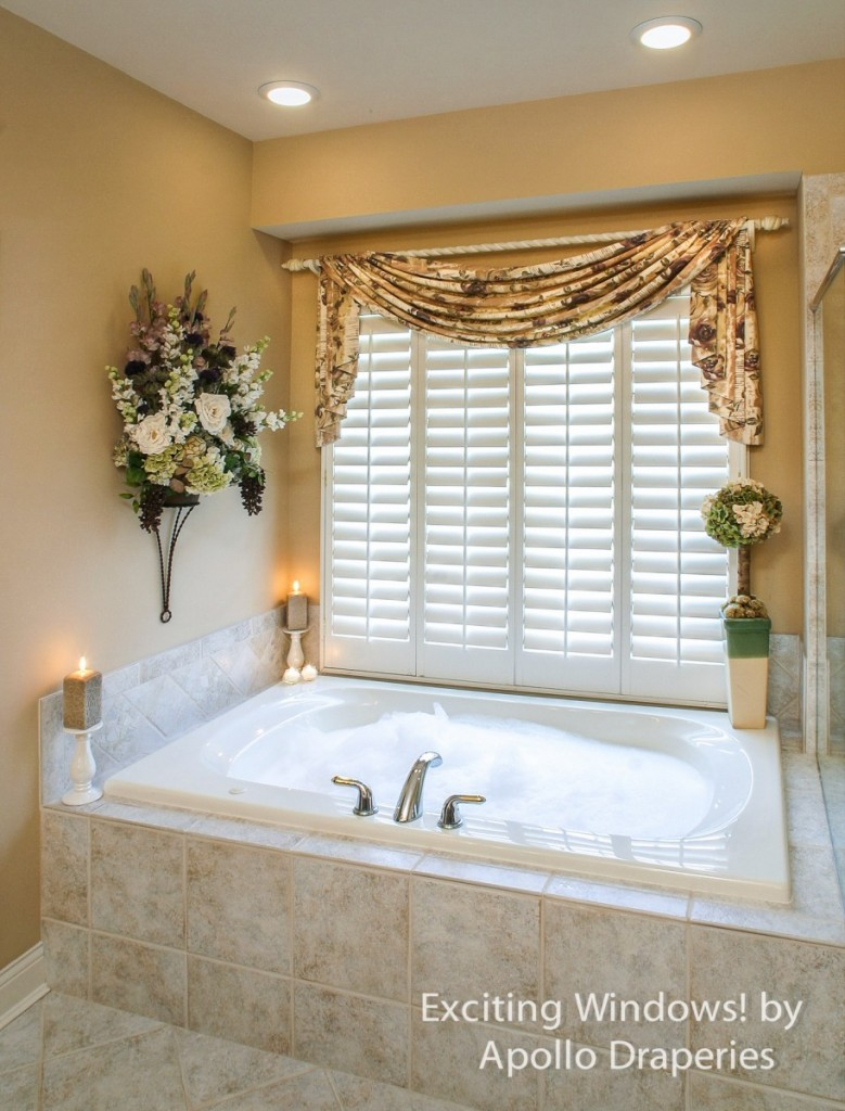 10 modern bathroom window curtains ideas inoutinterior Window curtains design ideas