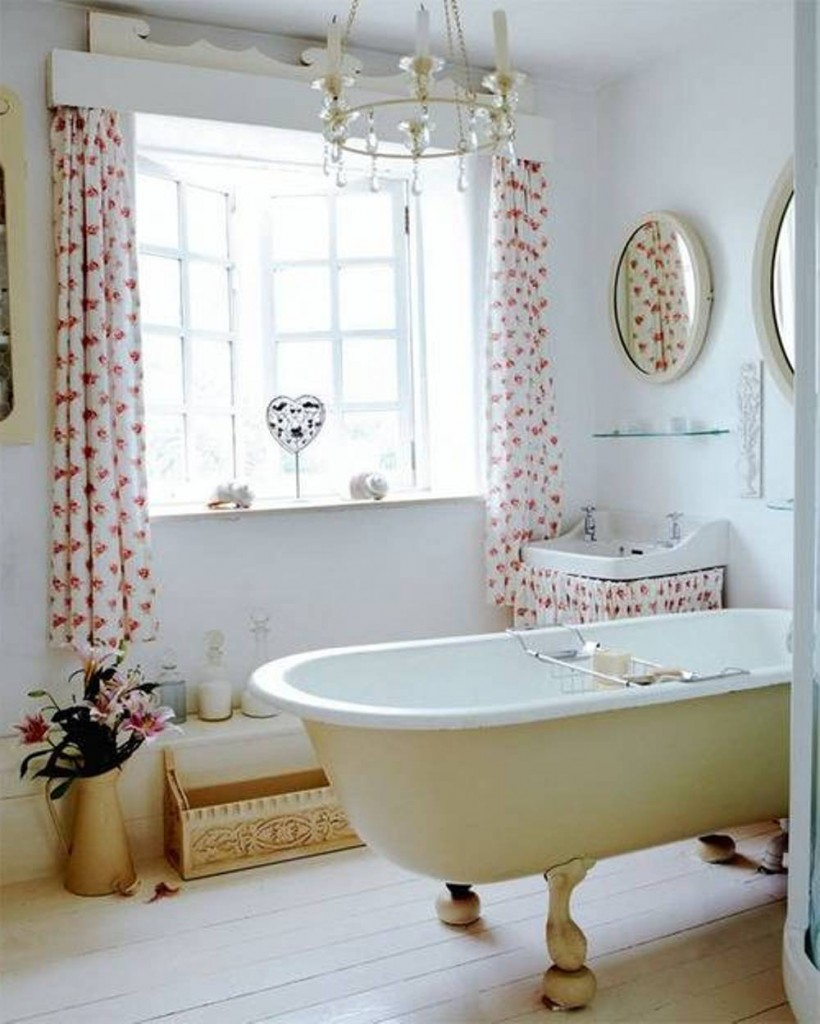 10 modern bathroom window curtains ideas inoutinterior for Bathroom window designs
