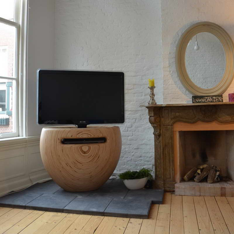 Modern TV Stands With Unique Shaped
