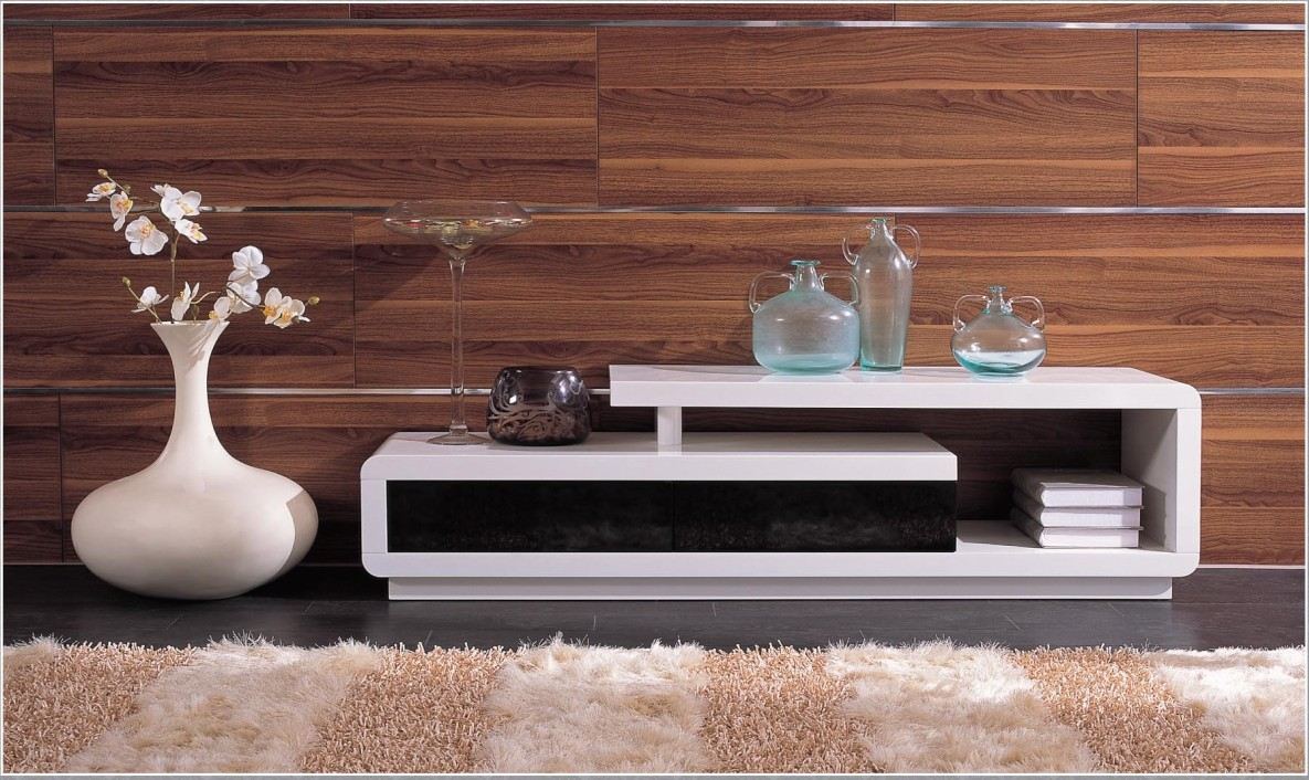 modern tv stands enchanced the modern living room inoutinterior. Black Bedroom Furniture Sets. Home Design Ideas